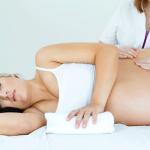 Masaje para embarazadas