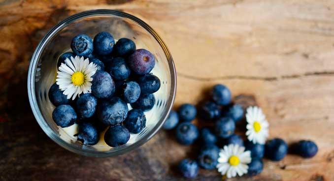 Los arándanos se encuentran entre los mejores alimentos antienvejecimiento
