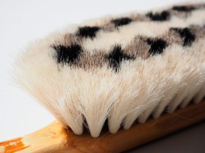 Beneficios del cepillo de cerdas naturales