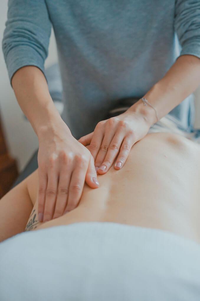 Beneficios del masaje para embarazadas
