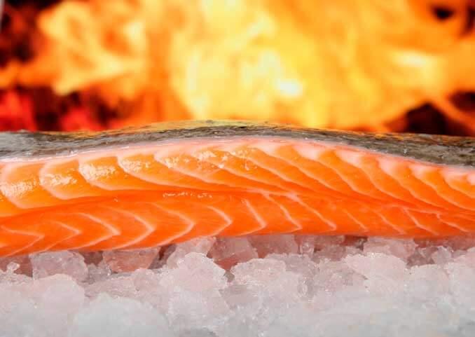 El salmón estimula la producción de colágeno